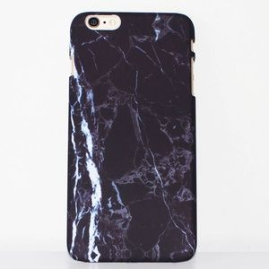 Accessories - BLACK MARBLE IPHONE CASE FOR IPHONE 6, 6S, 6 PLUS